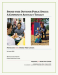 Smoke-­Free Outdoor Public Spaces: A Community Advocacy Toolkit