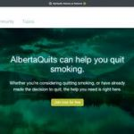 AlbertaQuits can help you quit smoking